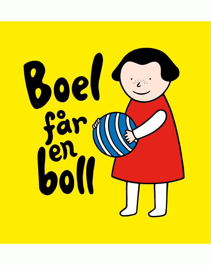 Boel får en boll av Helena Davidsson Neppelberg